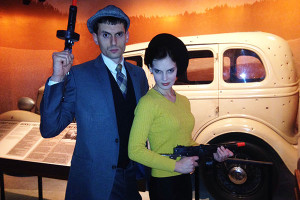 Bonnie & Clyde Impersonators